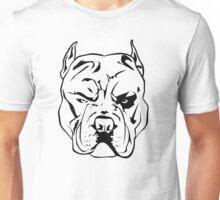 Angry Pitbull Unisex T-Shirt