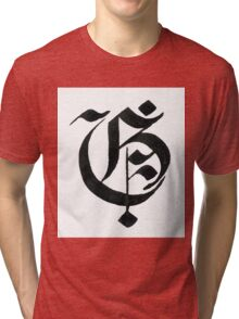 Gothic letter G Tri-blend T-Shirt