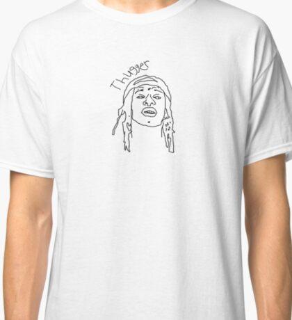 "Young Thug ""Thugger"" Sketch Classic T-Shirt"