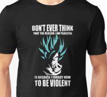 Don't Even Think Violent Unisex T-Shirt