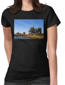 Power Plant Womens Fitted T-Shirt