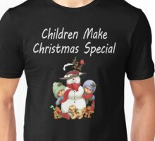 Children Make Christmas Special - Christmas Children T Shirts. Unisex T-Shirt