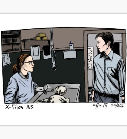 X-Files - Agents Sticker