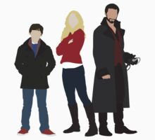 Captain Swan Family One Piece - Short Sleeve
