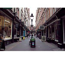 Diagon Alley (Cecil Court) Photographic Print