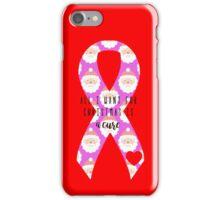 Santa Cure - Pink iPhone Case/Skin