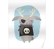 Rebel Bunny Poster