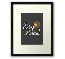 The Boy with the Bread Framed Print