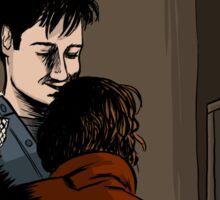 X-Files - Hug Sticker