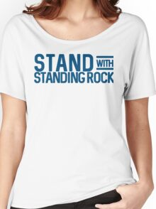 Stand With Standing Rock Shirt Women's Relaxed Fit T-Shirt