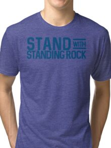 Stand With Standing Rock Shirt Tri-blend T-Shirt