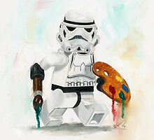 Artist Trooper by Deborah Cauchi