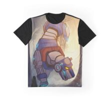 Blue and Her Paladin Graphic T-Shirt