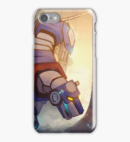 Blue and Her Paladin iPhone Case/Skin