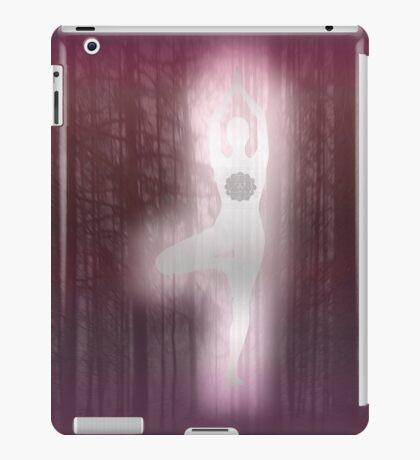 Forest Yoga (rose) iPad Case/Skin
