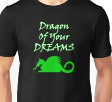 Dragon Of Your Dreams (White) Unisex T-Shirt