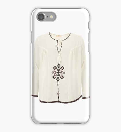 Daphne Ethnic Smock Top iPhone Case/Skin