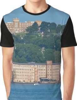 View On Newburgh Across The Hudson River | Beacon, New York Graphic T-Shirt