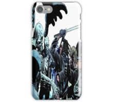Walking Dead Comic  iPhone Case/Skin