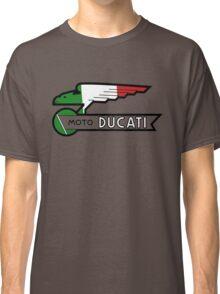 DUCATI ITALIAN FLAG VINTAGE MOTO Classic T-Shirt