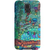SWIMMING with GUPPIES Samsung Galaxy Case/Skin
