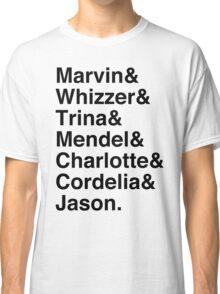 Falsettos Character List Classic T-Shirt