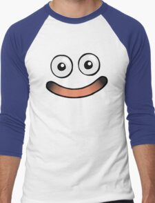 Huggable Slime Smile Men's Baseball ¾ T-Shirt