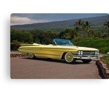 1961 Cadillac Series 62 Convertible Canvas Print
