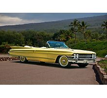 1961 Cadillac Series 62 Convertible Photographic Print
