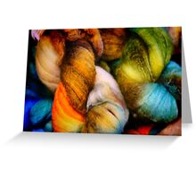 Dyed in the Wool Greeting Card