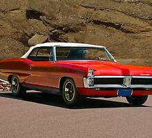 1967 Pontiac Bonneville Convertible by DaveKoontz