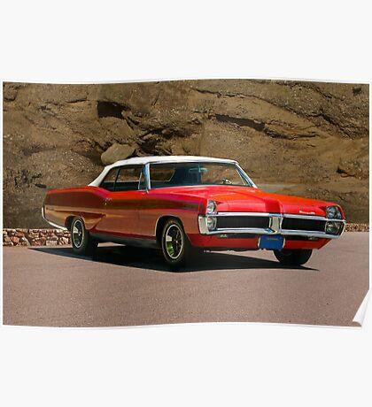 1967 Pontiac Bonneville Convertible Poster