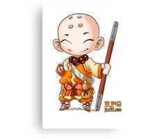 RPG Rules. Monk Canvas Print