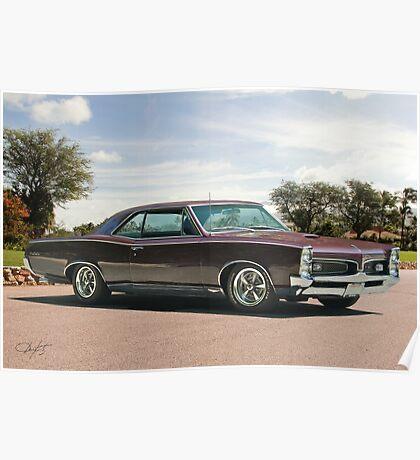 1967 Pontiac GTO 'Plum Crazy' Poster