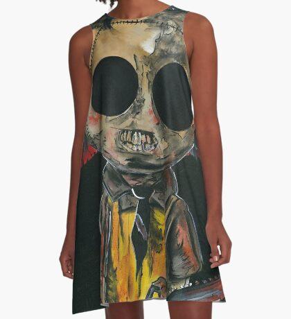 Texas Chainsaw Massacre........Leatherface A-Line Dress