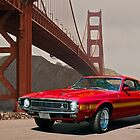 1971 Mustang Cobra GT500 by DaveKoontz