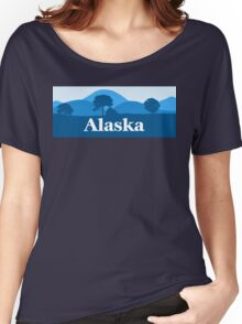 Cool Scenic Alaska Women's Relaxed Fit T-Shirt