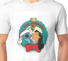 lilo and stitch christmas Unisex T-Shirt