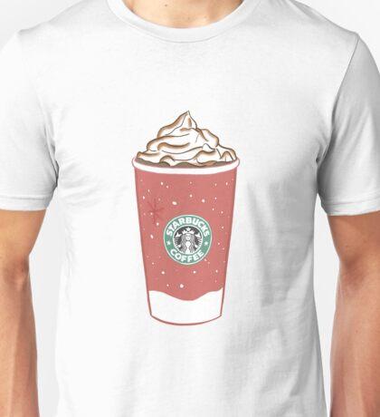 starbucks christmas cups Unisex T-Shirt