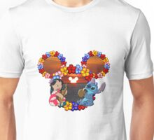 lilo and stitch sunset Unisex T-Shirt