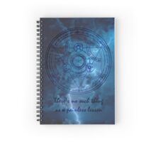 There's no such thing as a painless lesson. Spiral Notebook