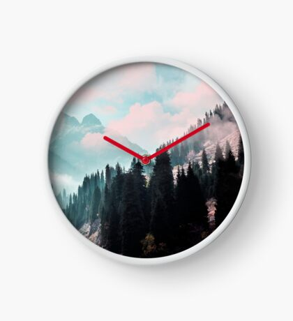 The Juxtaposed Creation #redbubble #lifetstyle Clock