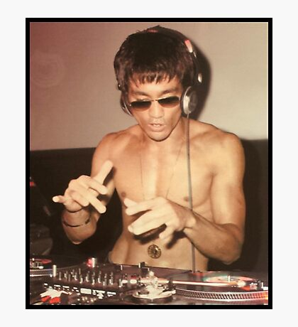 DJ Photographic Print