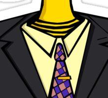 Justice Wears A Suit Sticker