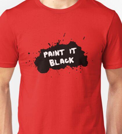 The Rolling Stones - Paint it Black Unisex T-Shirt
