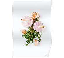 Fresh seasoning, garlic and thyme Poster
