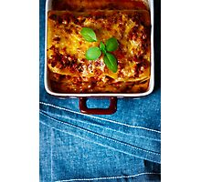 Italian Food Photographic Print