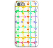 Colorful arrows iPhone Case/Skin