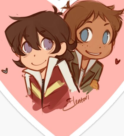 Chibi Klance Sticker
