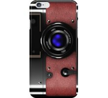 Vintage retro rangefinder camera phone cases iPhone Case/Skin